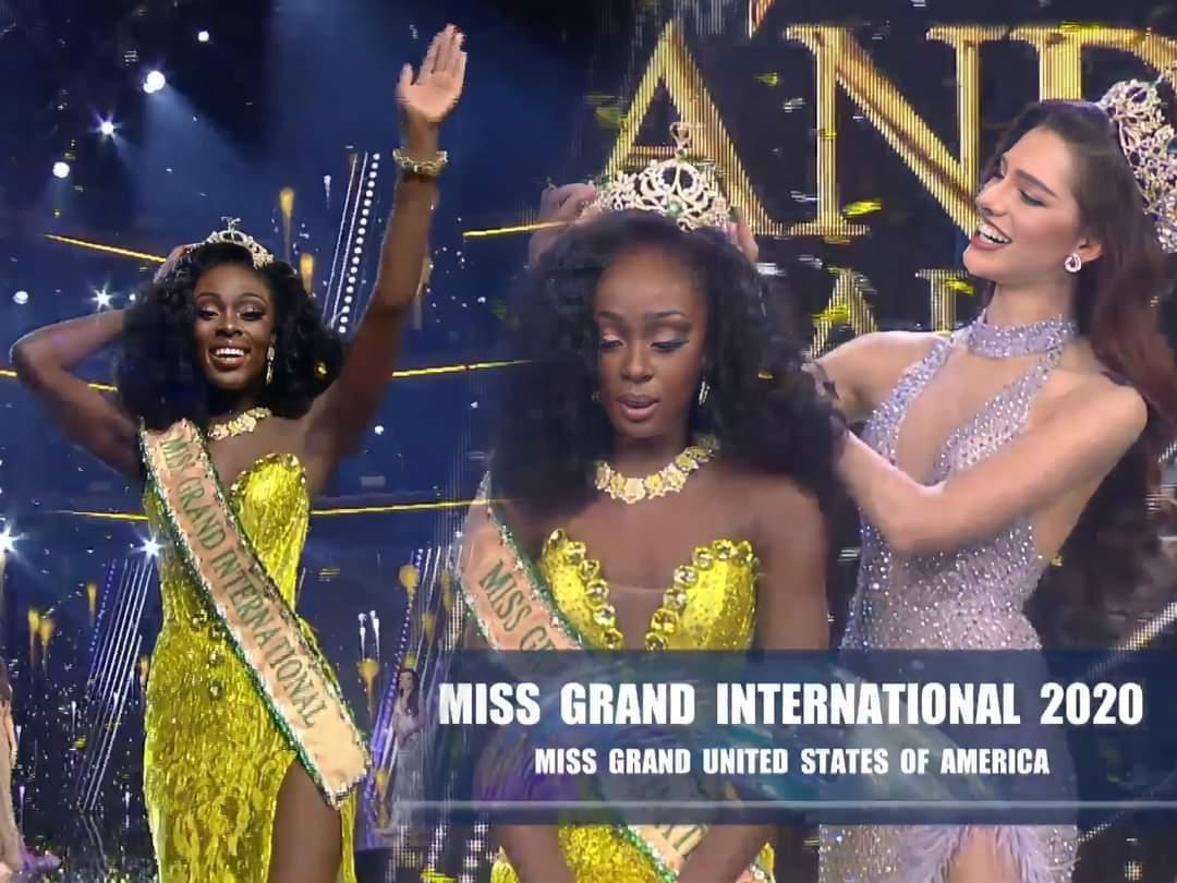 Miss Grand USA Abena Akuaba is Miss Grand International 2020