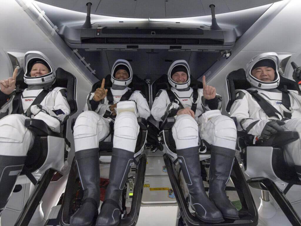SpaceX Astronauts Return